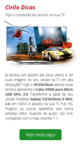 Cirilo Dicas MHL