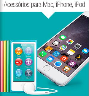 Acessorios para Mac, iPhone, iPod