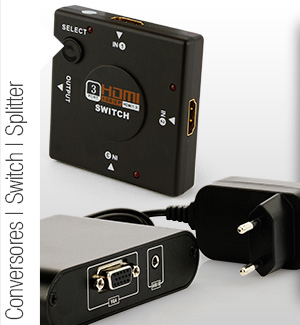 Conversores Divisores Switch