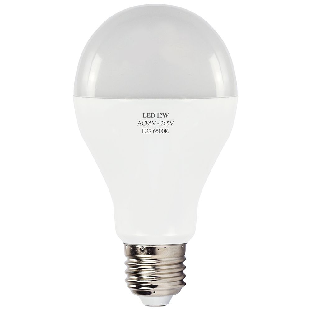 L mpada led bulbo alum nio 12w e27 6500k bivolt for Lampade e27 a led