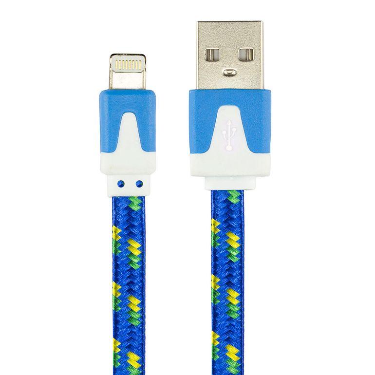 cabo-flat-usb-carregador-e-dados-para-iphone-5-ipad-ipod-azul