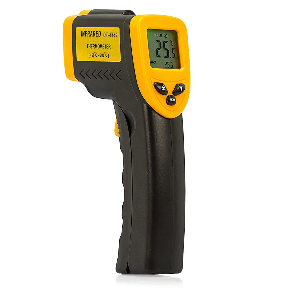 Termômetro Digital com Mira Laser de - 50 a 380ºC - DT - 8380