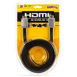 7245-Cabo-HDMI-FLAT-Desmontavel-1.4-Ultra-HD-3D-3metro-CiriloCabos
