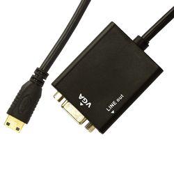 6900-2-Cabo-Adaptador-Mini-HDMI-para-VGA-com-Audio-Cirilo-Cabos