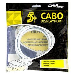 187494-Cabo-Displayport-Conector-com-Trava-ChipSce-3-metros-CiriloCabos