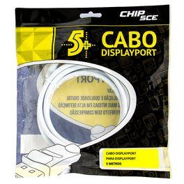 187495-Cabo-Displayport-Conector-com-Trava-ChipSce-5-metros-CiriloCabos