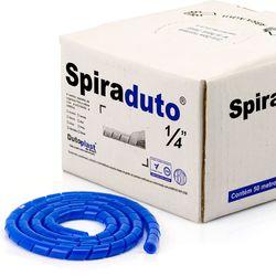 8359-Spiraduto-1-4-Organizador-de-Cabos-Dutoplast-Azul-CiriloCabos