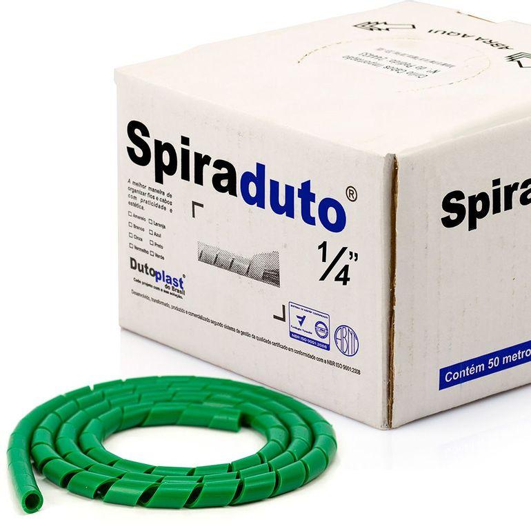 8363-Spiraduto-1-4-Organizador-de-Cabos-Dutoplast-Verde-CiriloCabos