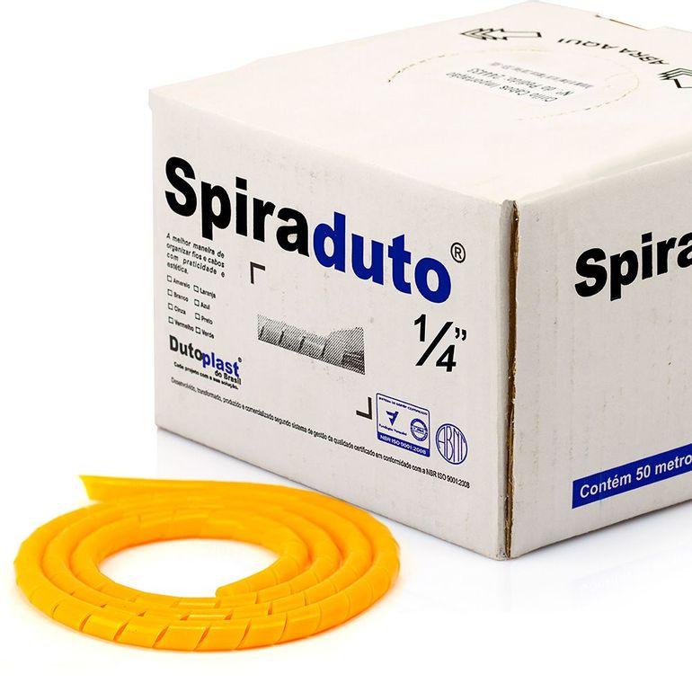 8362-01-Spiraduto-1-4-Organizador-de-Cabos-Dutoplast-Laranja-CiriloCabos