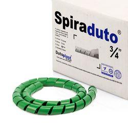 8370-01-Spiraduto-3-4-Organizador-de-Cabos-Dutoplast-Verde-CiriloCabos