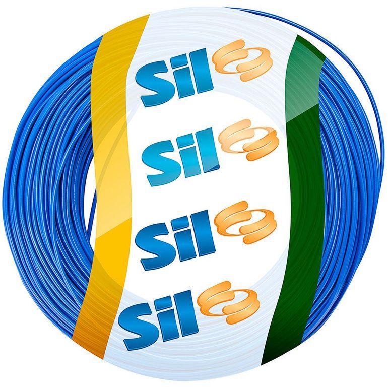 981000-Cabo-Eletrico-Flexivel-750V-1x10-00mm-azul-SIL-CiriloCabos