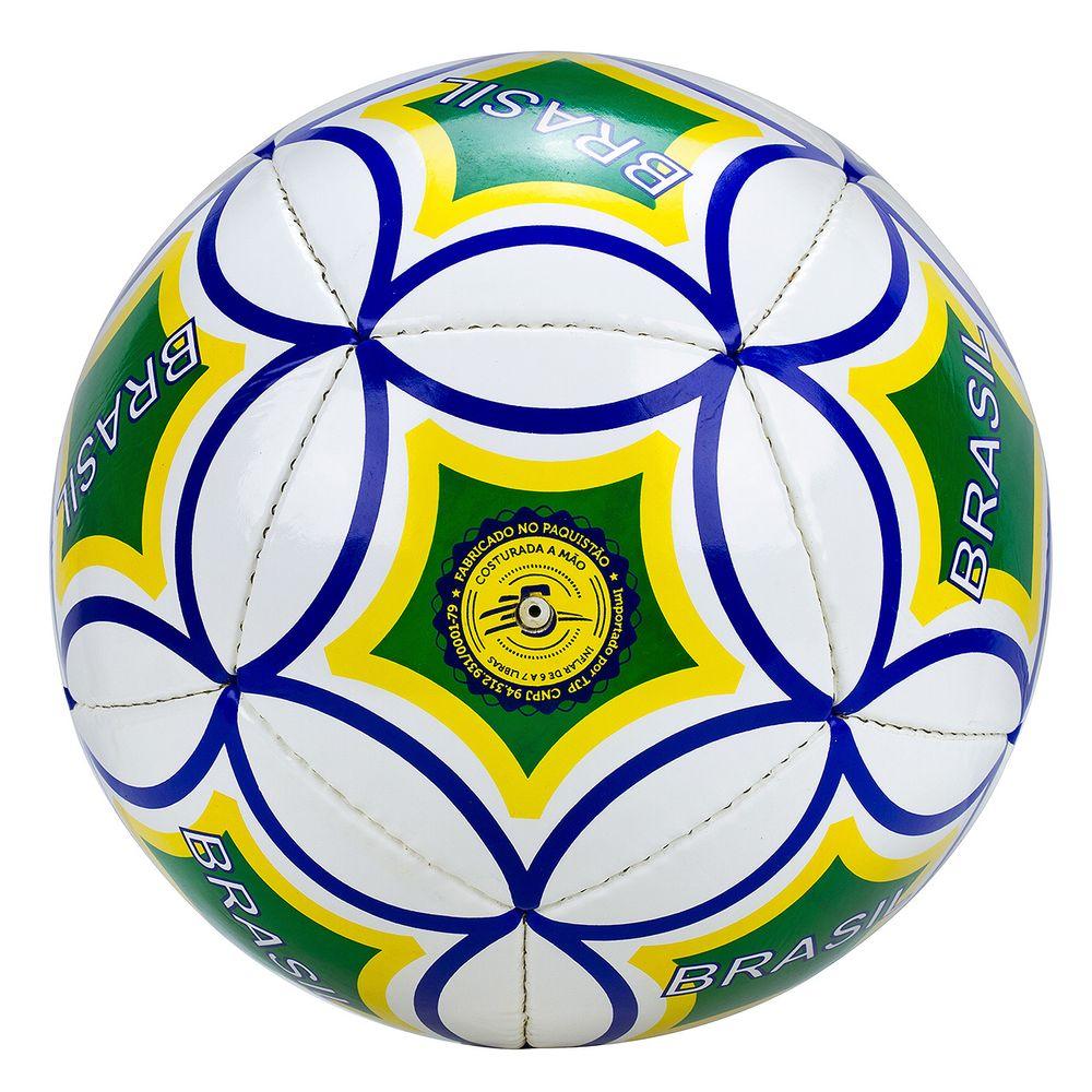Bola de Futebol de Campo em Couro d73c7988a0603