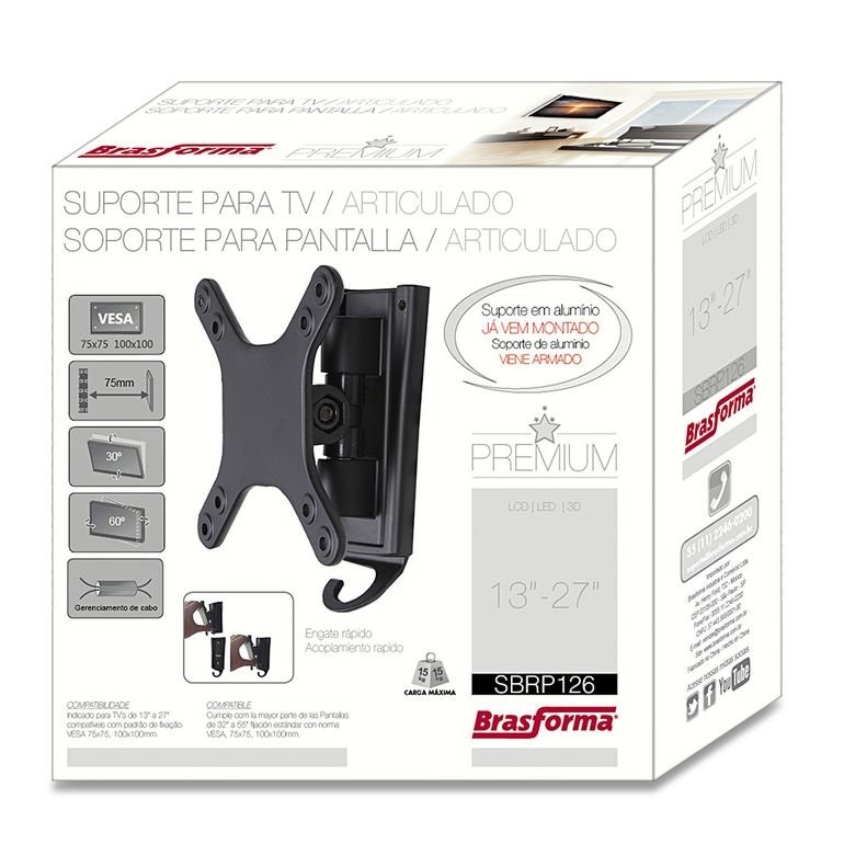 835-01-suporte-para-tv-led-lcd-articulado-13quot-a-27quot-sbrp126-brasforma