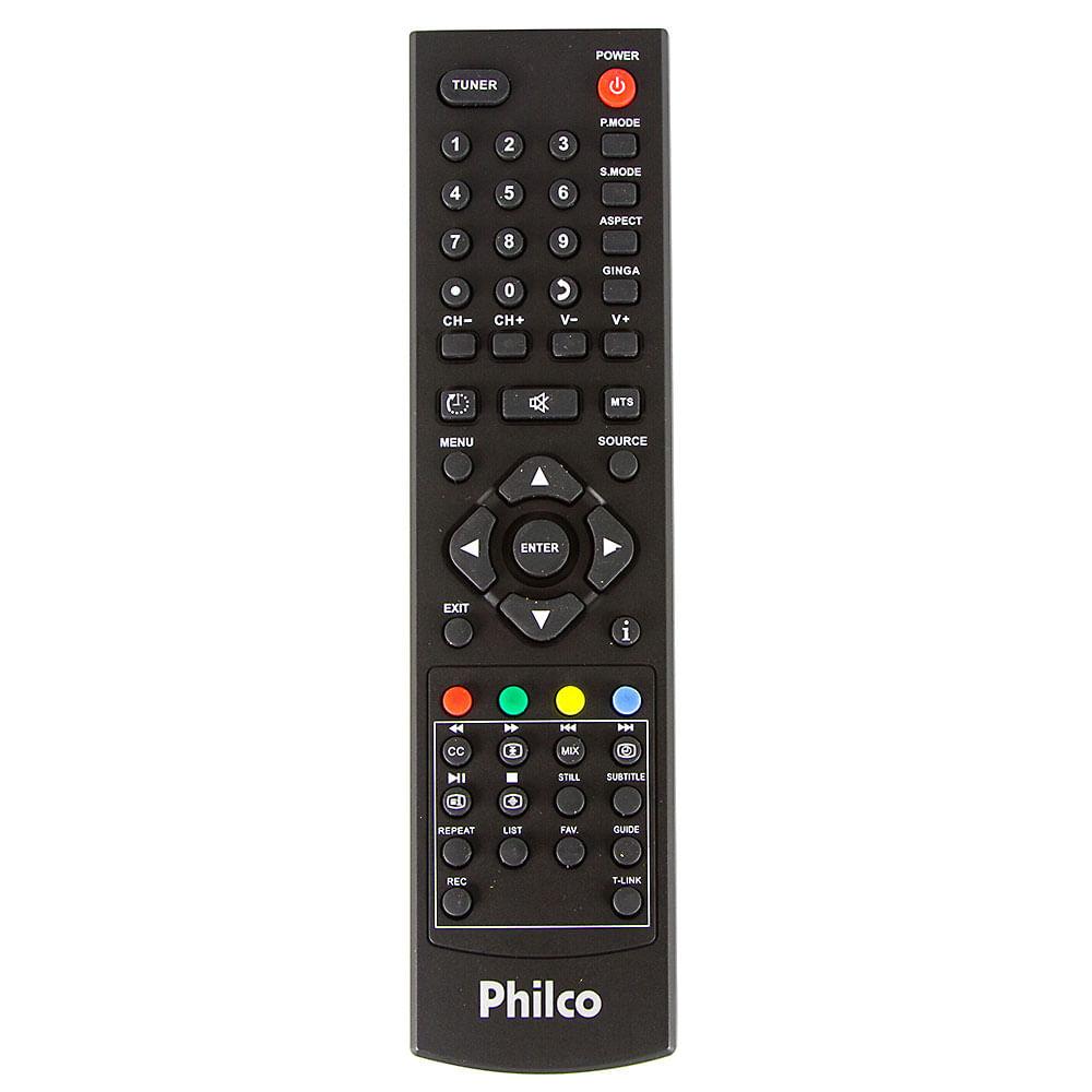 Controle Remoto TV Philco 32 a 42 Polegadas Original - Cirilo Cabos