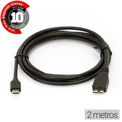 cabo-adaptador-usb-c-para-microusb-b-cirilocabos-0120002-kit-com-10-2m-1