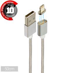 0-50-m-cabo-magnetico-carregador-e-dados-lightning-para-iphone-cirilocabos-0101099b-kit-com-10-1