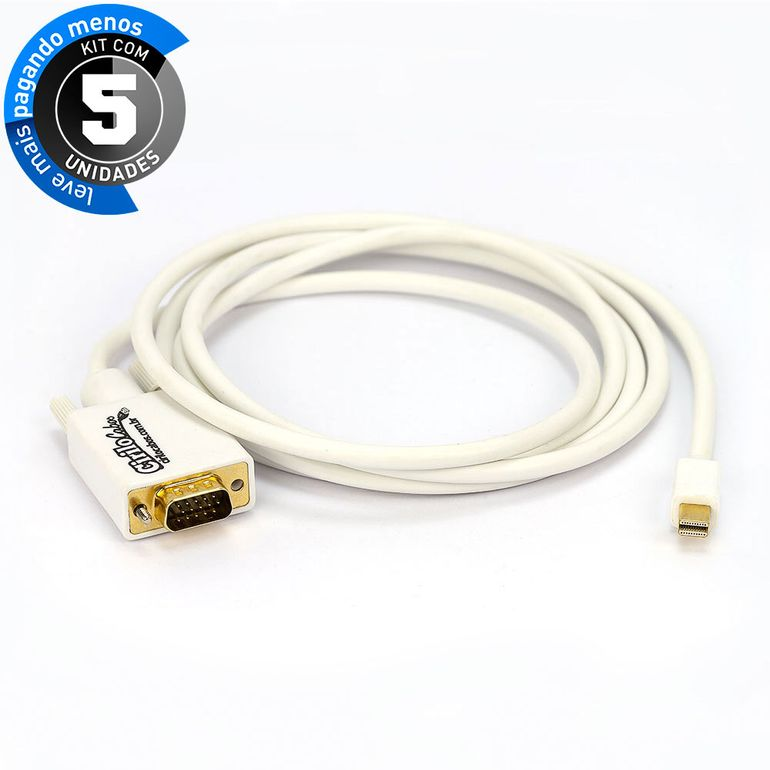 cabo-adaptador-mini-displayport-para-vga-cirilocabos-6558-kit-com-5-1