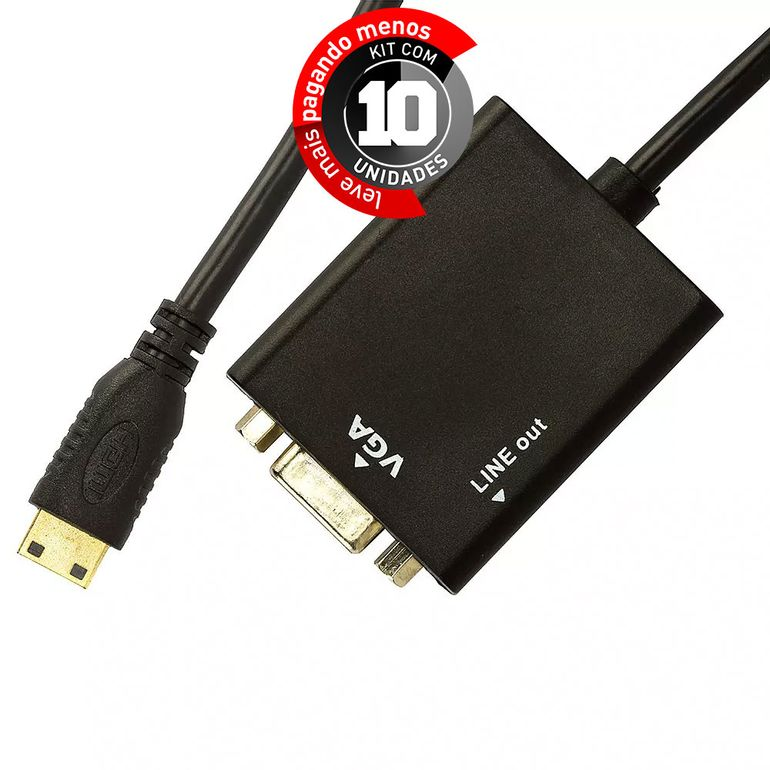cabo-adaptador-mini-hdmi-para-vga-com-audio-cirilocabos-6900-kit-com-10-1
