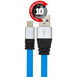 cabo-usb-de-silicone-carregador-e-dados-para-iphone-5-e-6-azul-cirilocabos-7972-kit-com-10-1