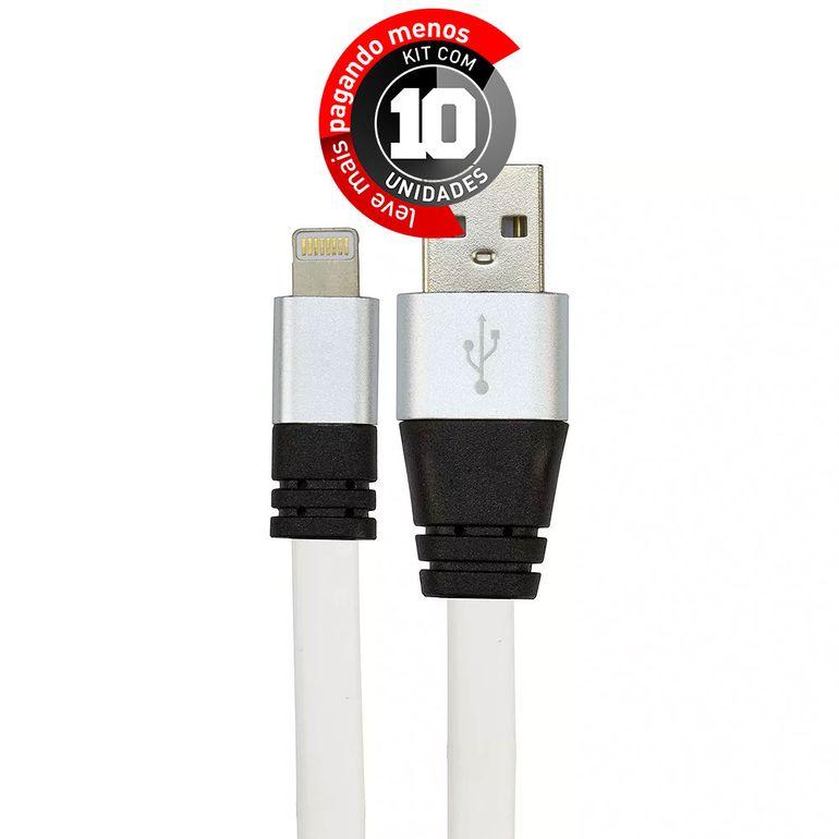 cabo-usb-de-silicone-carregador-e-dados-para-iphone-5-e-6-branco-cirilocabos-7972-kit-com-10-1