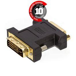 adaptador-dvi-macho-para-dvi-femea-cirilocabos-0401055-kit-com-10-1