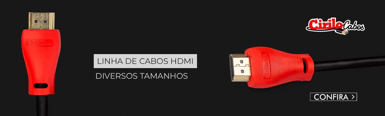 Linha Cabo HDMI