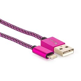 cabo-lightning-para-usb-revestido-com-tecido-trancado-em-nylon-901744-rosa