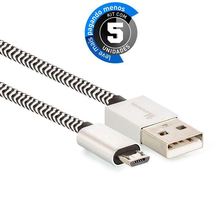 cabo-micro-usb-para-usb-revestido-com-tecido-trancado-em-nylon-901746-preto-KIT-05-1
