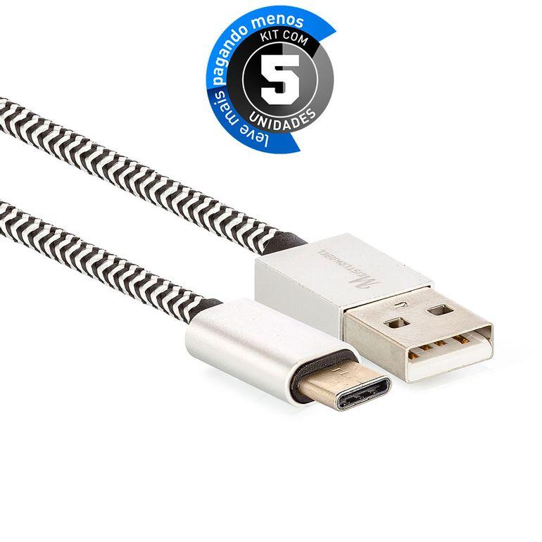 cabo-usb-c-para-usb-revestido-com-tecido-trancado-em-nylon-901745-preto-KIT5-01