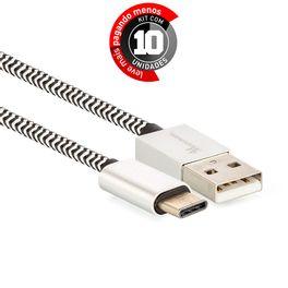 cabo-usb-c-para-usb-revestido-com-tecido-trancado-em-nylon-901745-preto-KIT10-01