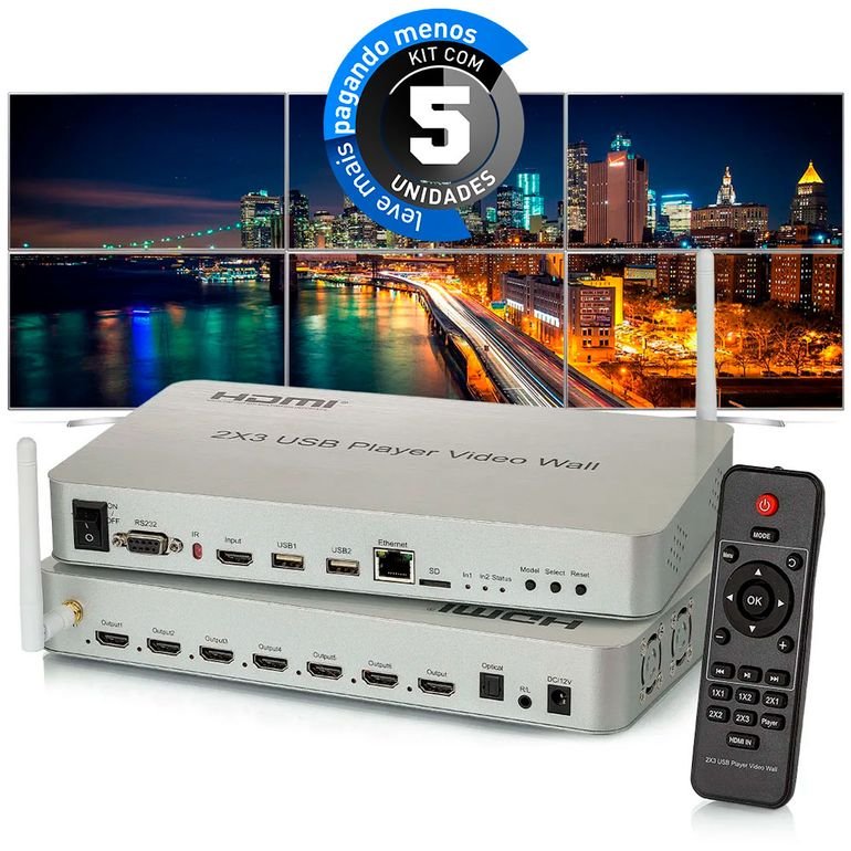 controlador-de-video-wall-2x3-usb-hdmi-4k-cirilocabos-kit-5-1