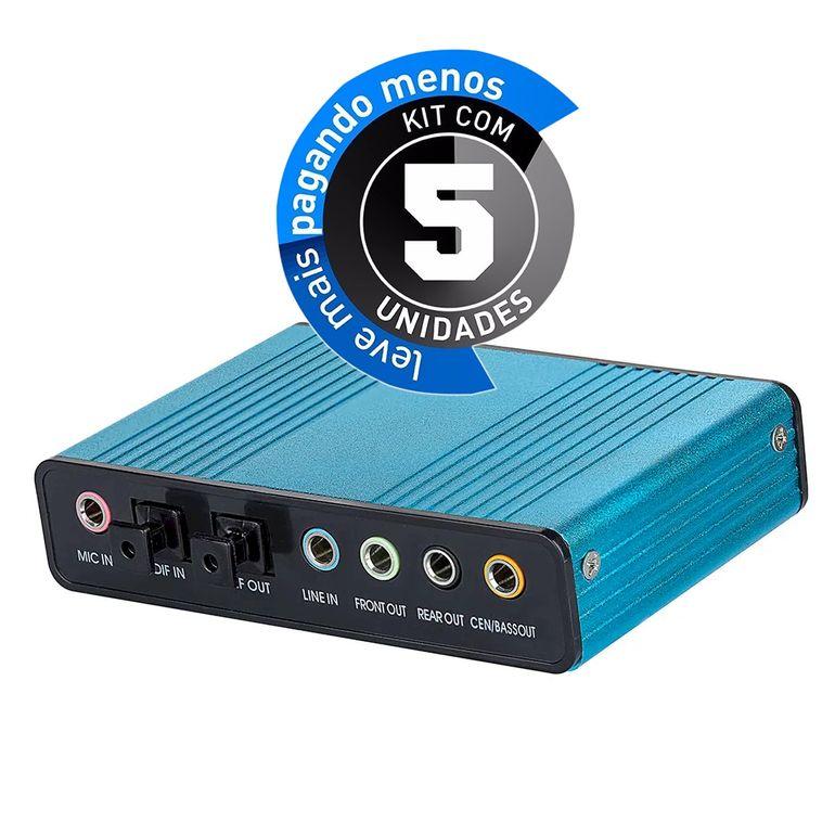placa-de-som-externa-usb-51-6-canais-optico-cirilocabos-901945-kit-com-05